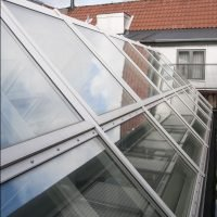 Fire Rated Glass For Skylights And Roofing