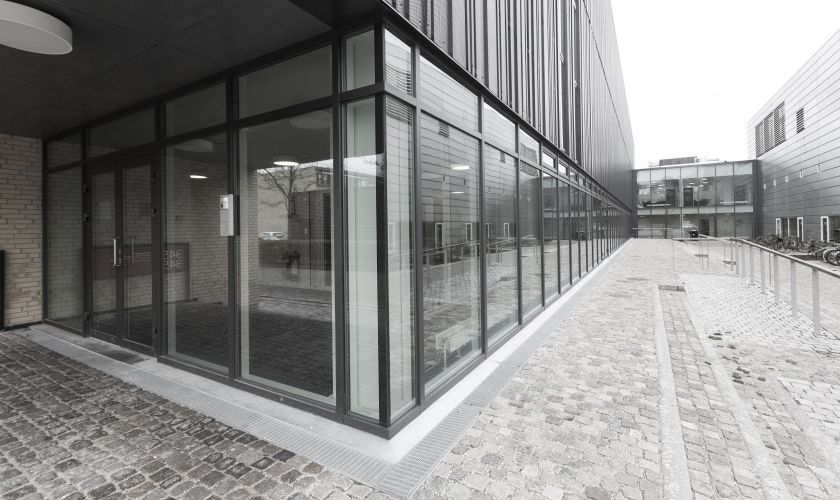 Fire Resistant Glass Facade