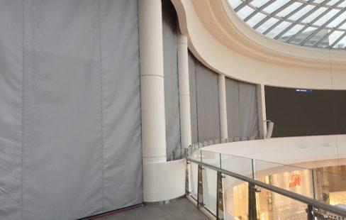 SmokeStop Smoke Curtain Closed